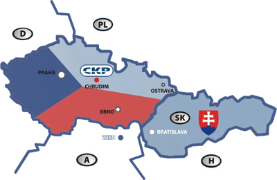 Operation Area CKP Chrudik